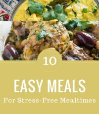 10 Easy Dinners for Stress-Free Weeknights