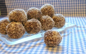 Chocolate Coconut Bliss Balls 1