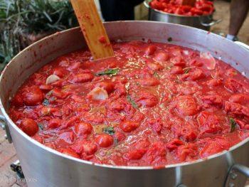 Backyard Tomato Passata