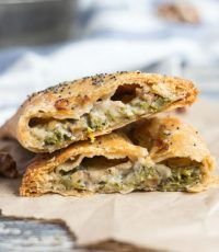 Broccoli, Blue Cheese and Walnut Hand Pies