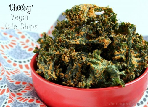 Cheesy Vegan Kale Chips pic