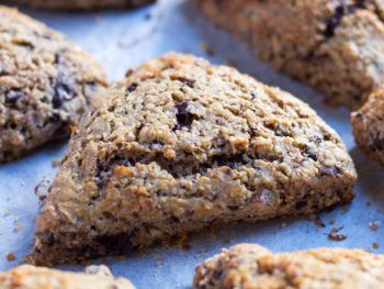 Chocolate and Almond Scones