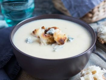Creamy Cauliflower Cheese Soup