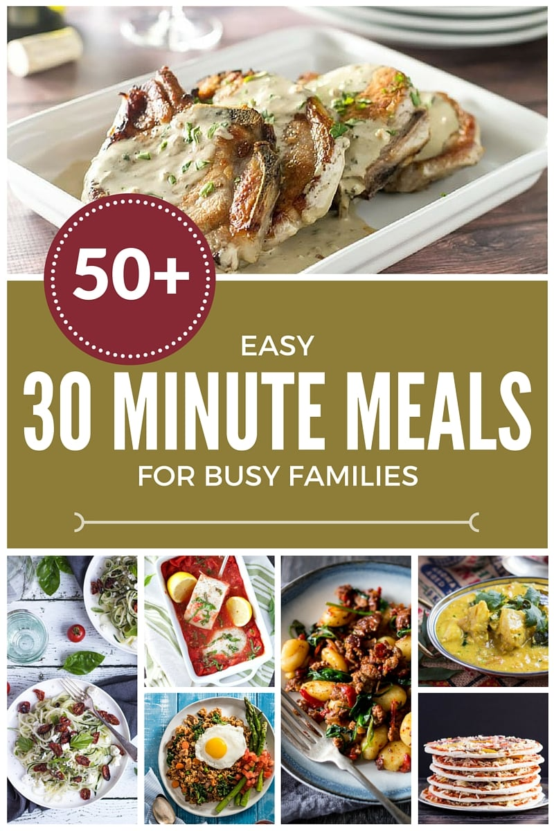 30 Easy Nail Designs For Beginners: 58 Easy 30 Minute Meals For Busy Families