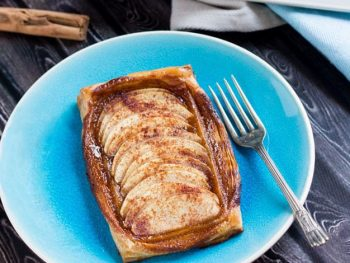 Easy Coconut Apple Tarts