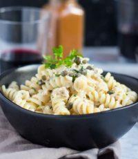 Store Cupboard Staples: Easy 30 Minute Lemon Tuna Pasta