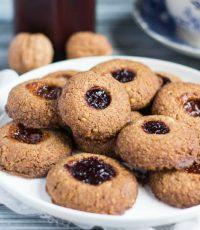 Gluten Free Thumbprint Cookies