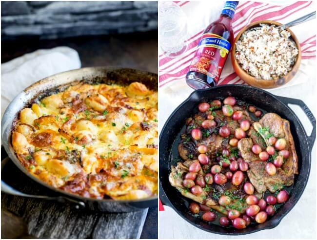 Healthy Weekly Meal Plan - Week 43. Our healthy eating plan this week takes a quick trip around the globe. Try delicious Greek pasta, fish curry, baked gnocchi, turkey chili or pork chops.