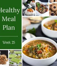 Healthy Weekly Meal Plan – Week 25