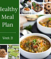 Healthy Weekly Meal Plan – Week 21
