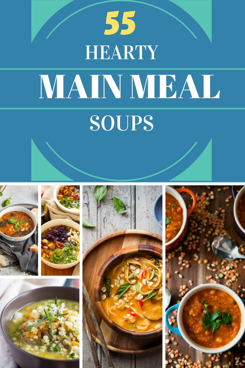 55 Hearty Soups. Perfect for a cold winter's evening. With recipes to suit all tastes, just add a loaf of crusty bread to complete the meal.