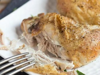 How To Cook The Best Weeknight Roast Chicken. Love roast chicken but never have time to cook it? With my simple method, now you do.