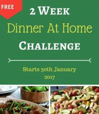 Two Week Dinner At Home Challenge – Starts 30th January 2017