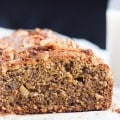 Kamut & Walnut Loaf Cake, which can be whipped up in 5 minutes in the food prcessor, is perfect to tuck into lunchboxes.