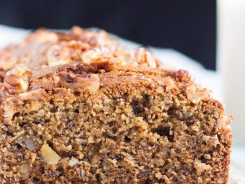 Kamut and Walnut Loaf Cake
