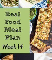 Real Food Meal Plan – Week 14