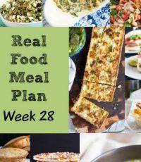 Real Food Meal Plan – Week 28