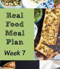 Real Food Meal Plan – Week 7 2016