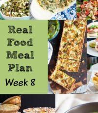 Real Food Meal Plan – Week 8 2016