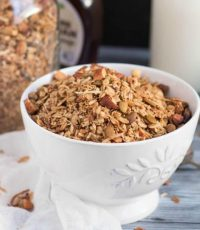 How to Make Pecan & Maple Granola in a Slow Cooker