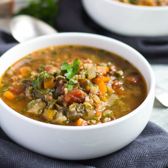 Slow Cooker Vegetable Soup Recipe {Made With Soup Mix}