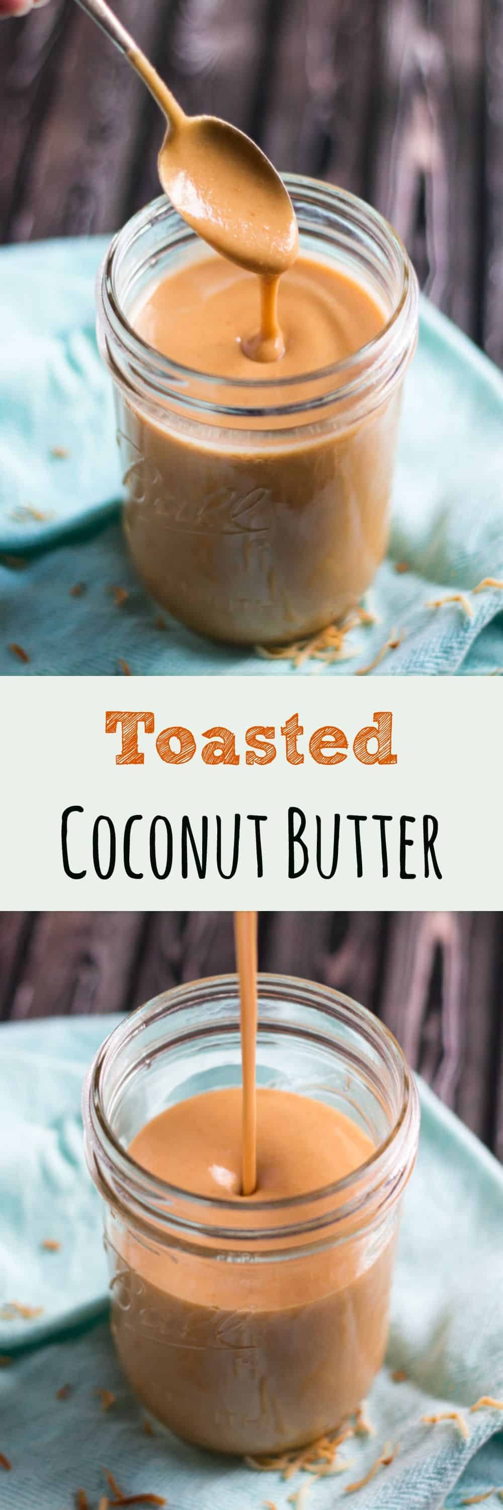 Just when you thought there was nothing better than coconut butter, introducing Toasted Coconut Butter. Use anywhere you would original coconut butter.