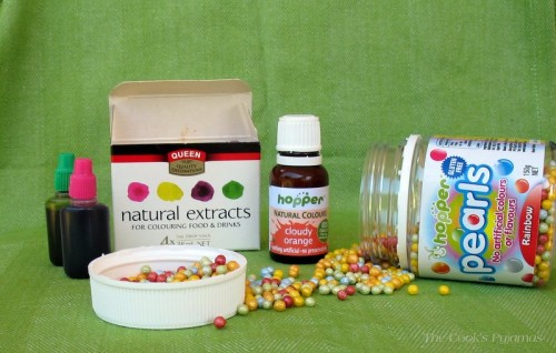 Types of natural food colourings