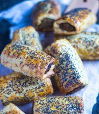 Vegetarian Sausage Rolls   The Recipe Redux