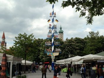 The Viktualienmarkt, Munich