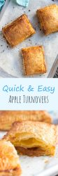 Apple turnovers recipe long pin
