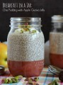 Breakfast in a Jar: Chia Pudding with Apple Guava Jelly {Vegan, Gluten & Dairy Free}   thecookspyjamas.com