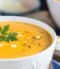 The Nana Project: A Super Easy Creamy Carrot Soup Recipe