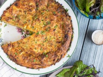 Crustless Zucchini Quiche Recipe {with Freezing Tips}