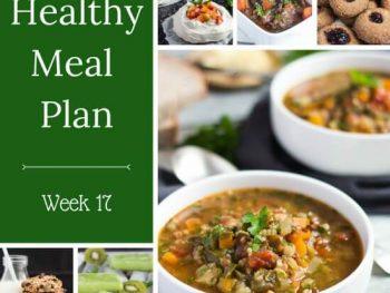 Healthy Weekly Meal Plan – Week 17
