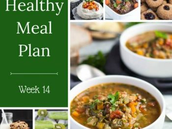Healthy Weekly Meal Plan – Week 14
