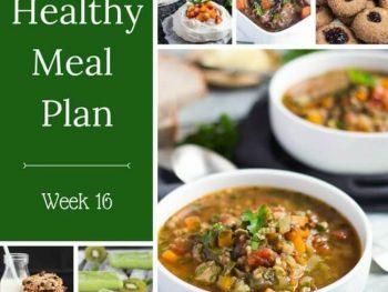 Healthy Weekly Meal Plan – Week 16