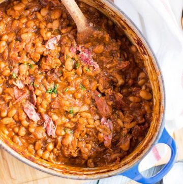 Homemade Baked Beans. Once you've tasted these, you will never buy a tin again.