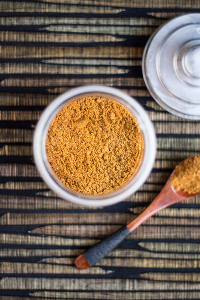 Homemade Spice Rub. Perfect for adding a little zip to your meat. Package in jars for a great gift.