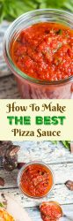 How To Make The Best Pizza Sauce. Ever wondered how to make pizza sauce from scratch? Follow my tips and tricks for crafting the very best pizza sauce right in your own kitchen.