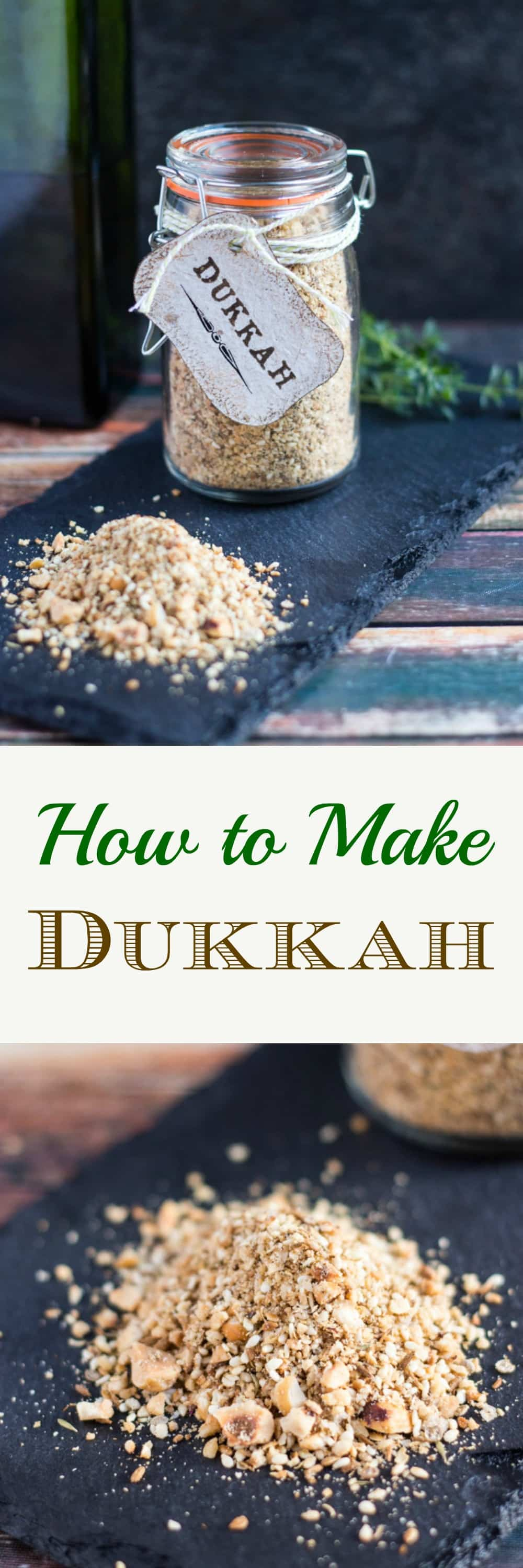 How to Make Dukkah. So simple to make at home, and makes an impressive gift.