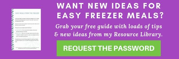Purple opt in image for easy freezer meals