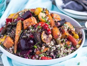 Pack A Healthy Lunchbox: Simple Mediterranean Quinoa Salad