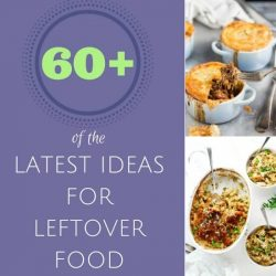 Never know what to do with all your leftover food? With over 60 of the latest ideas for the most common leftovers, you need never throw out food again.