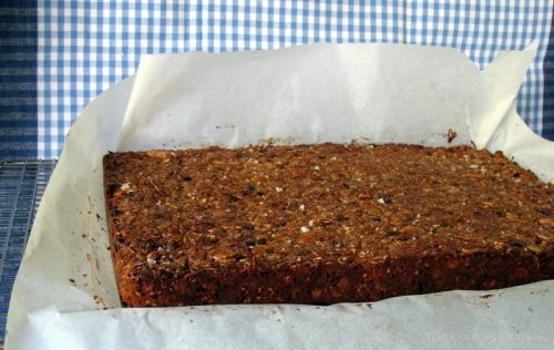 Nutty Granola bar