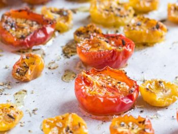 Kitchen Basics: Oven Dried Cherry Tomatoes