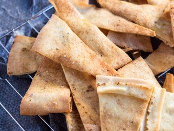 Quick Flatbread Crackers