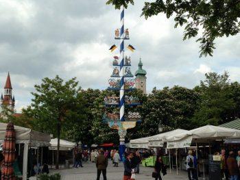 The Viktualienmarkt, Munich