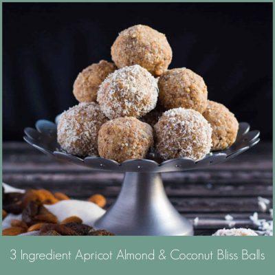 3 Ingredient Bliss Balls